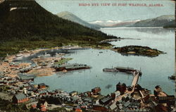 Bird's Eye View of Fort Wrangell
