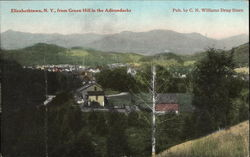View from the Green Hill in the Adirondacks
