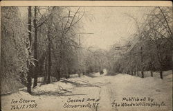 Second Avenue - Ice Storm, Feb. 17 1909