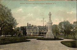 Soldiers' Monument and Thrall Hospital