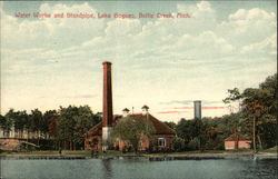Lake Goguac - Water Works and Standpipe