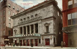 Illinois Theatre Postcard