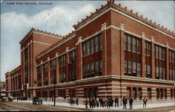 Lane High School Postcard