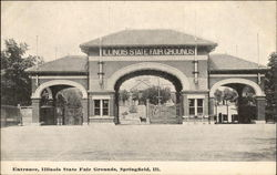 Entrance, Illinois State Fair Grounds
