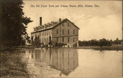 The Old Factor Pond and Urbana Wool Mills