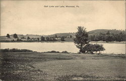 Golf Links and Lake Postcard