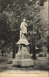 Brown Park - Dr. Brown's Statue