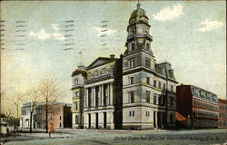 United States Post Office and Government Building Postcard