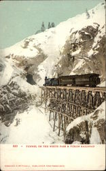 Tunnel on the White Pass & Yukon Railroad