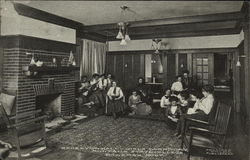 Montana State College - Reception Hall, Girls Dormitory