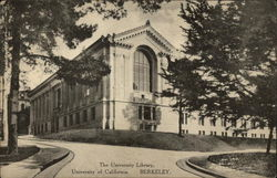 The University Library at the University of California