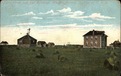 Farm House and Out Buildings - Western Canada, on line of C.P.R