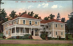 Officers' Club, Presidio of Monterey