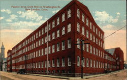 Palmer Brothers Quilt Mill on Washington Street