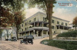 New Plymouth Inn Postcard