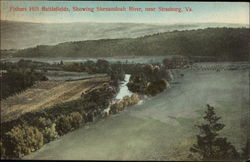 Fishers Hill Battlefields, Showing Shenandoah River