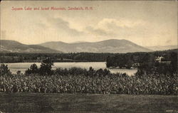 Squam Lake and Israel Mountain