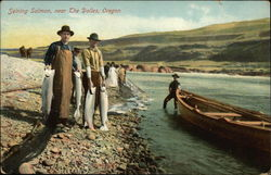 Seining Salmon, near The Dalles