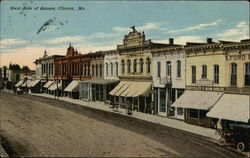 West Side of Square Postcard