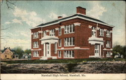 Marshall High School Postcard
