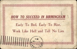 How to Succeed in Birmingham