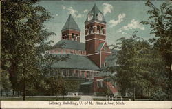 Library Building at the University of Michigan