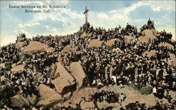 Easter Services on Mt. Rubidoux