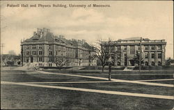 Folwell Hall and Physics Building, University of Minnesota