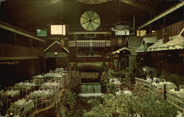 Brookdale Lodge Dining Room California