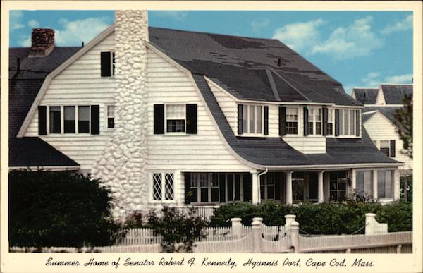 Summer Home of Senator Robert F. Kennedy Cape Cod Massachusetts