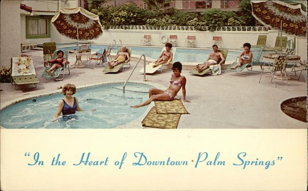 Pation Manor, In the Heart of Downtown Palm Springs California