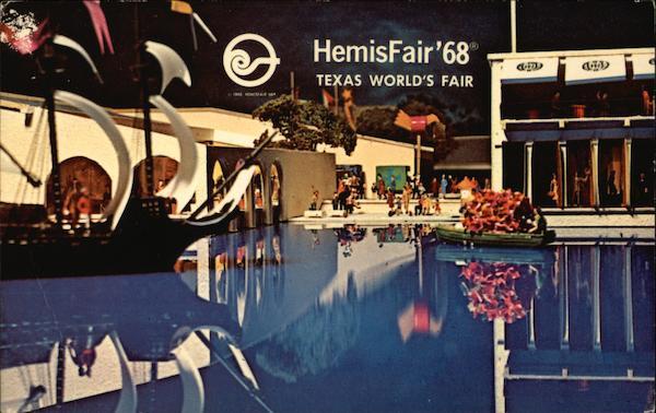 Hemisfair 68 Texas World S Fair San Antonio Tx Exposition