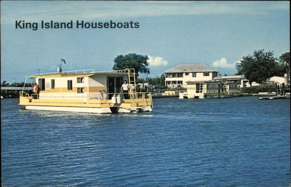 King Island Houseboats Stockton California
