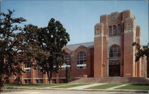 C.K. Preus Gymnasium, Luther College Decorah Iowa