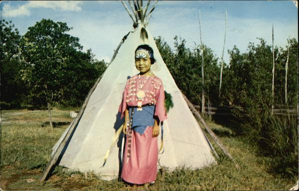 Earnestine Doyel of the Kiowa Indian Tribe Corn Oklahoma