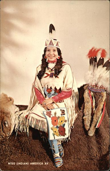 Miss Thomasine Ruth Hill, Miss (Indian) America XV Sheridan Wyoming