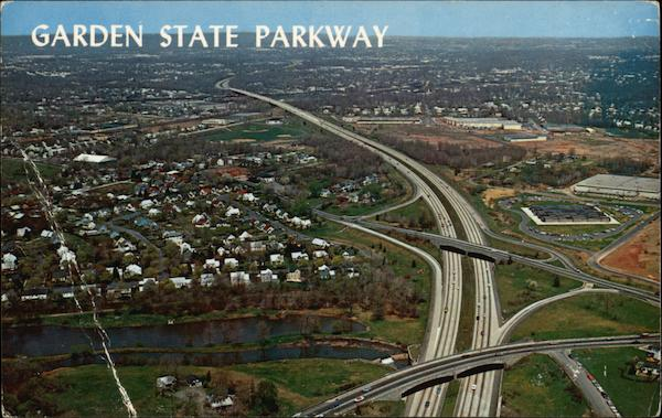 Aerial View Of New Jersey 39 S Garden State Parkway Other New