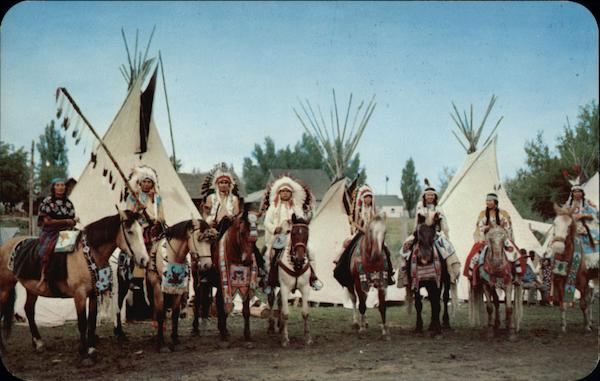 Indians of the Nez Perce Tribe Native Americana