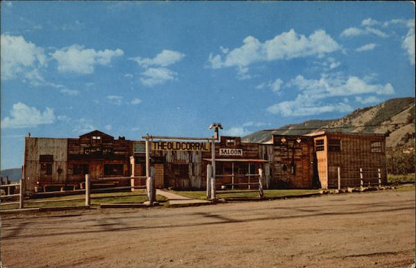 The Old Corral Motor Hotel at Frontier Village Centennial Wyoming