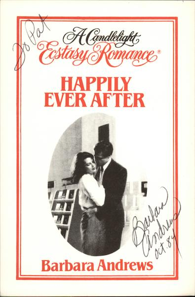 A Candlelight Romance Happily Ever After Barbara Andrews