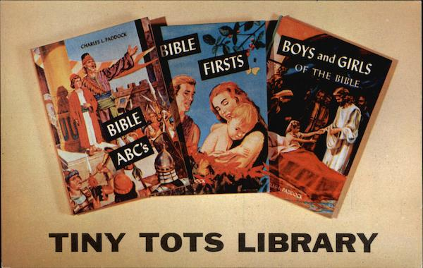 Tiny Tots Library Advertising