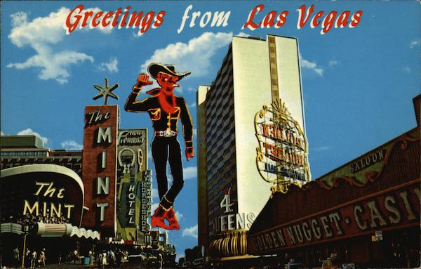 Greetings from Las Vegas Nevada Rene