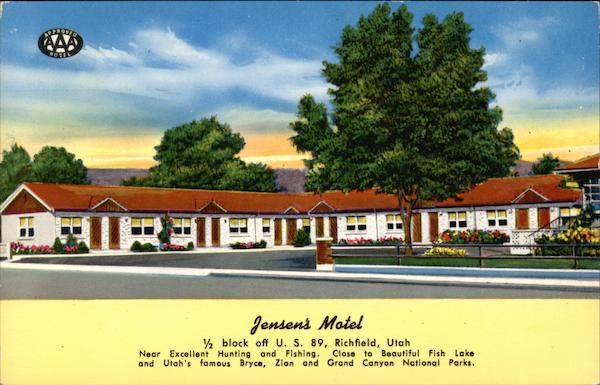 Jensen's Motel - Near Excellent Hunting and Fishing Richfield Utah