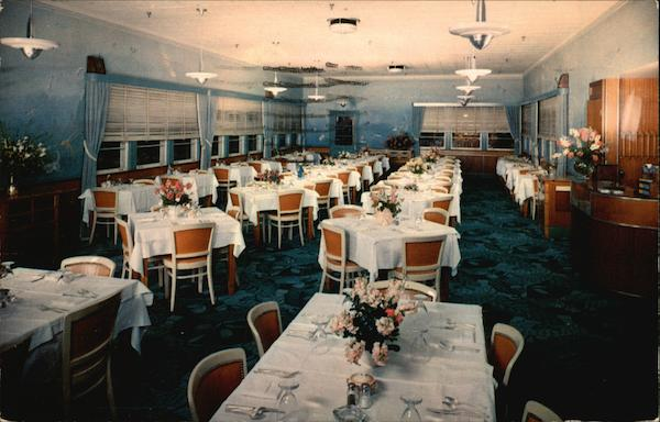 The Ridgewood Hotel Dining Room Daytona Beach Florida