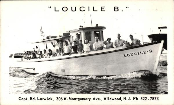 Loucile B - Fishing Trips Wildwood New Jersey