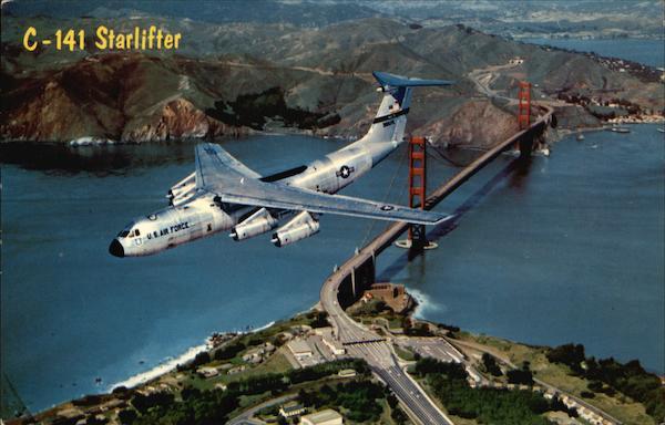 C 141 Starlifter Travis Air Force Base Aircraft
