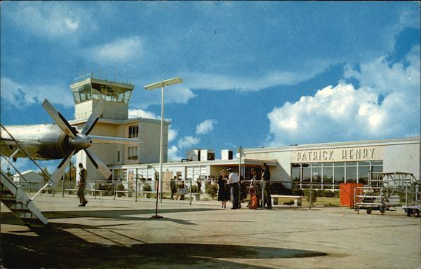 the patrick henry airport newport news  va