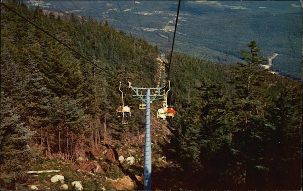 Double Chairlift - Whiteface Lake Placid New York