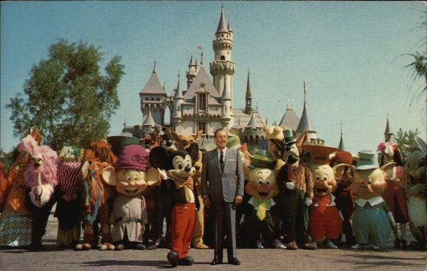 It All Started with a Mouse - Disneyland California