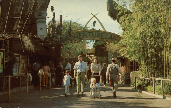 Adventureland, Disneyland Anaheim California